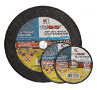 Круг отрезной ЛУГА-АБРАЗИВ 115x3x22 С24 упак. 25 шт.