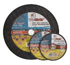 Круг отрезной ЛУГА-АБРАЗИВ 125x3x22 С24 упак. 25 шт.