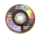 Круг Лепестковый Торцевой (КЛТ) ЛУГА-АБРАЗИВ КЛТ1 115 Х 22 Р120 (№12)
