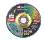 Круг Лепестковый Торцевой (КЛТ) ЛУГА-АБРАЗИВ КЛТ1 125 Х 22 Р 60 (№25)