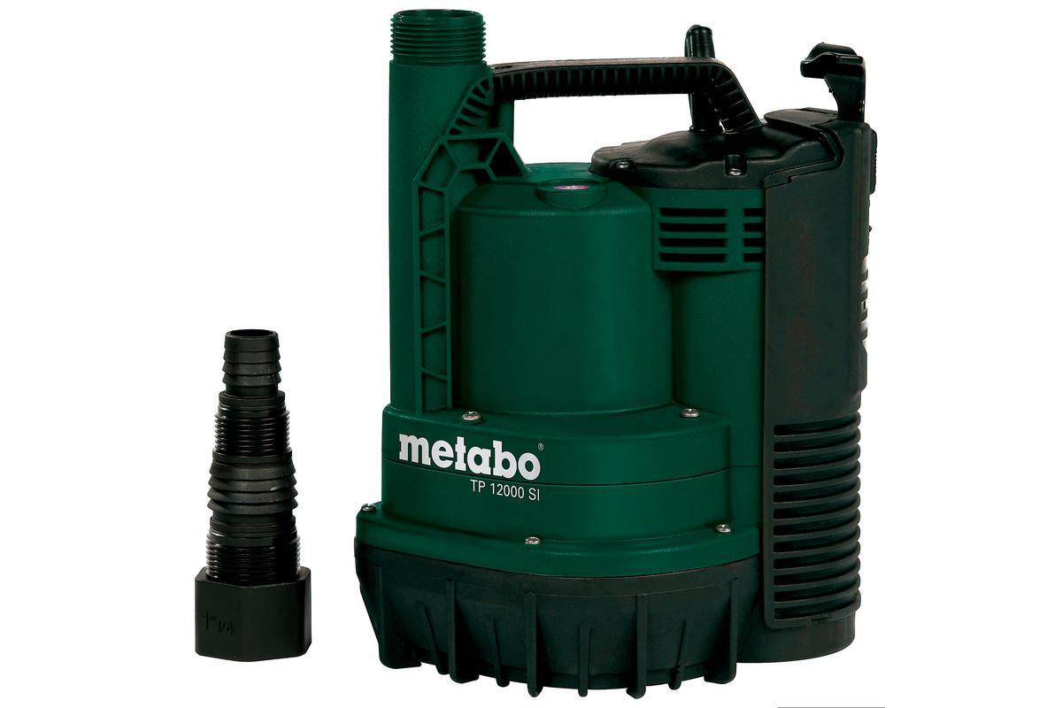 Дренажный насос Metabo Tp 12000 si (251200009) насос metabo tdp 7501 s 1000вт 0250750100