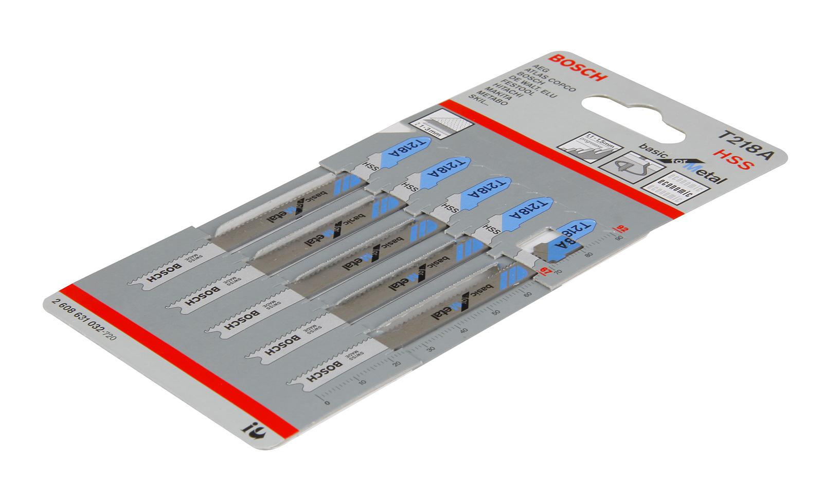 Купить Пилки для лобзика Bosch T218a (2.608.631.032), Швейцария