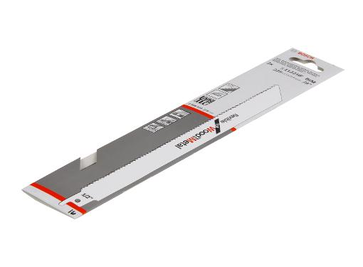 Полотно для сабельной пилы BOSCH 225мм, TPI 10, BIM, 2шт/уп (S 1122 HF 2608656270)