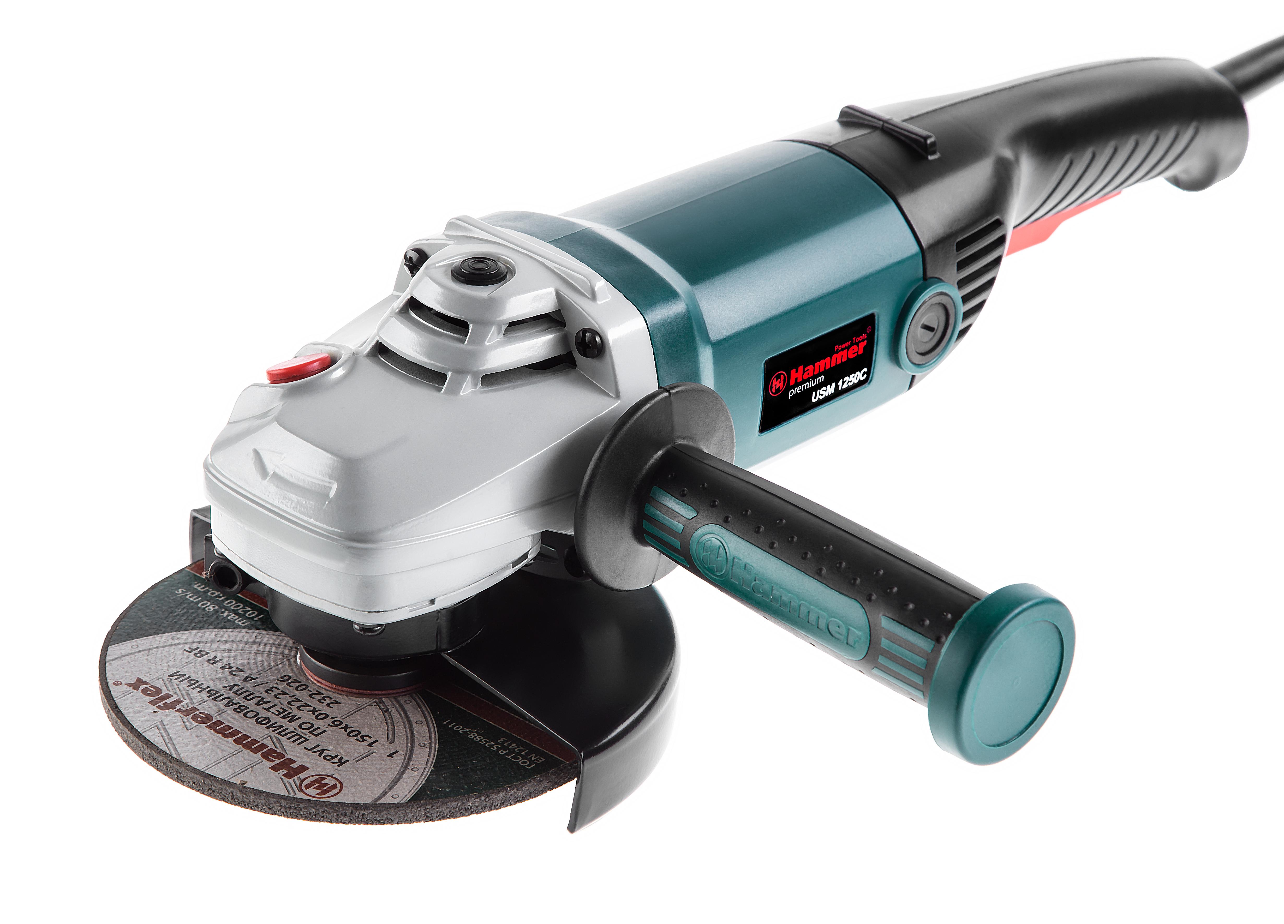 УШМ (болгарка) Hammer Usm1250c premium