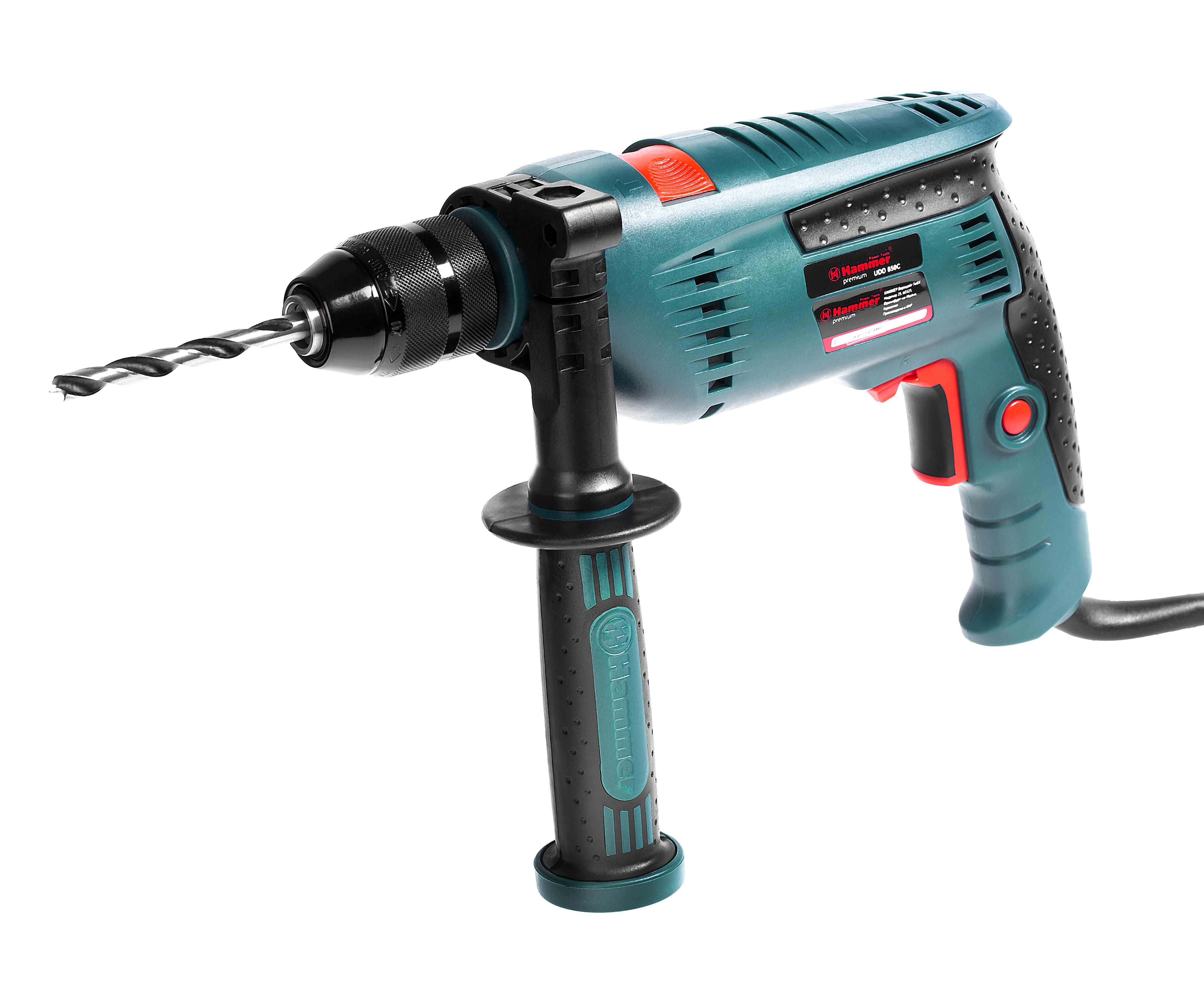 Дрель ударная Hammer Udd850С premium