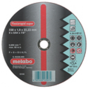 Круг отрезной Metabo 230 Х 1.9 Х 22мм (616185000) круг отрезной hammer flex 115 x 1 0 x 22 по металлу и нержавеющей стали 25шт