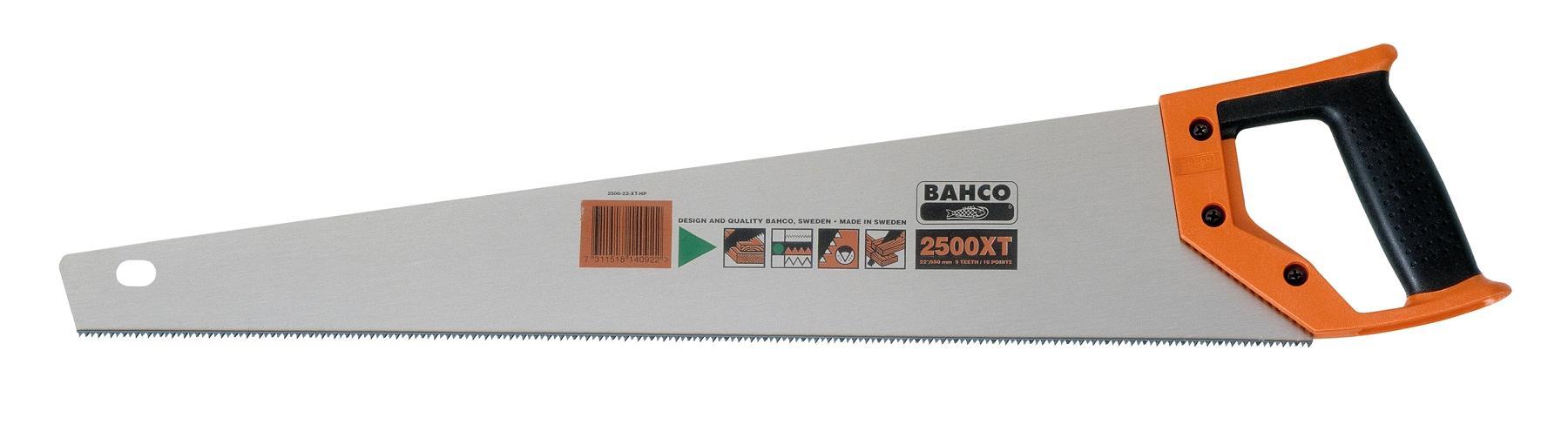 Ножовка Bahco 2500-22-xt-hp ножовка bahco 2500 22 xt hp