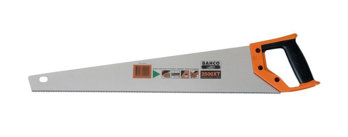 Ножовка Bahco 2500-24-xt7-hp ножовка bahco 475мм 2500 19 xt hp