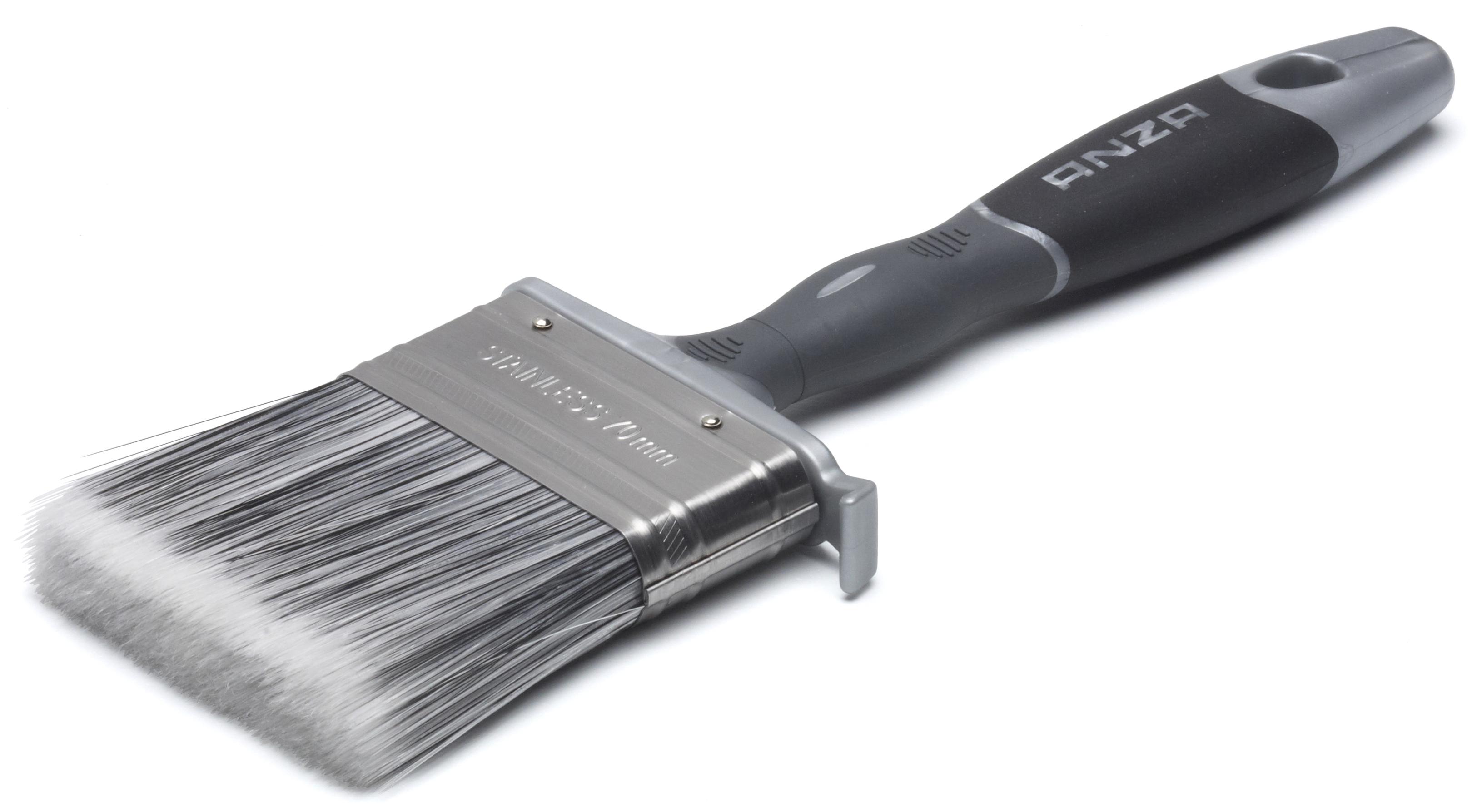 Кисть Anza 149535 плоская кисть anza platinum 50 мм 149550