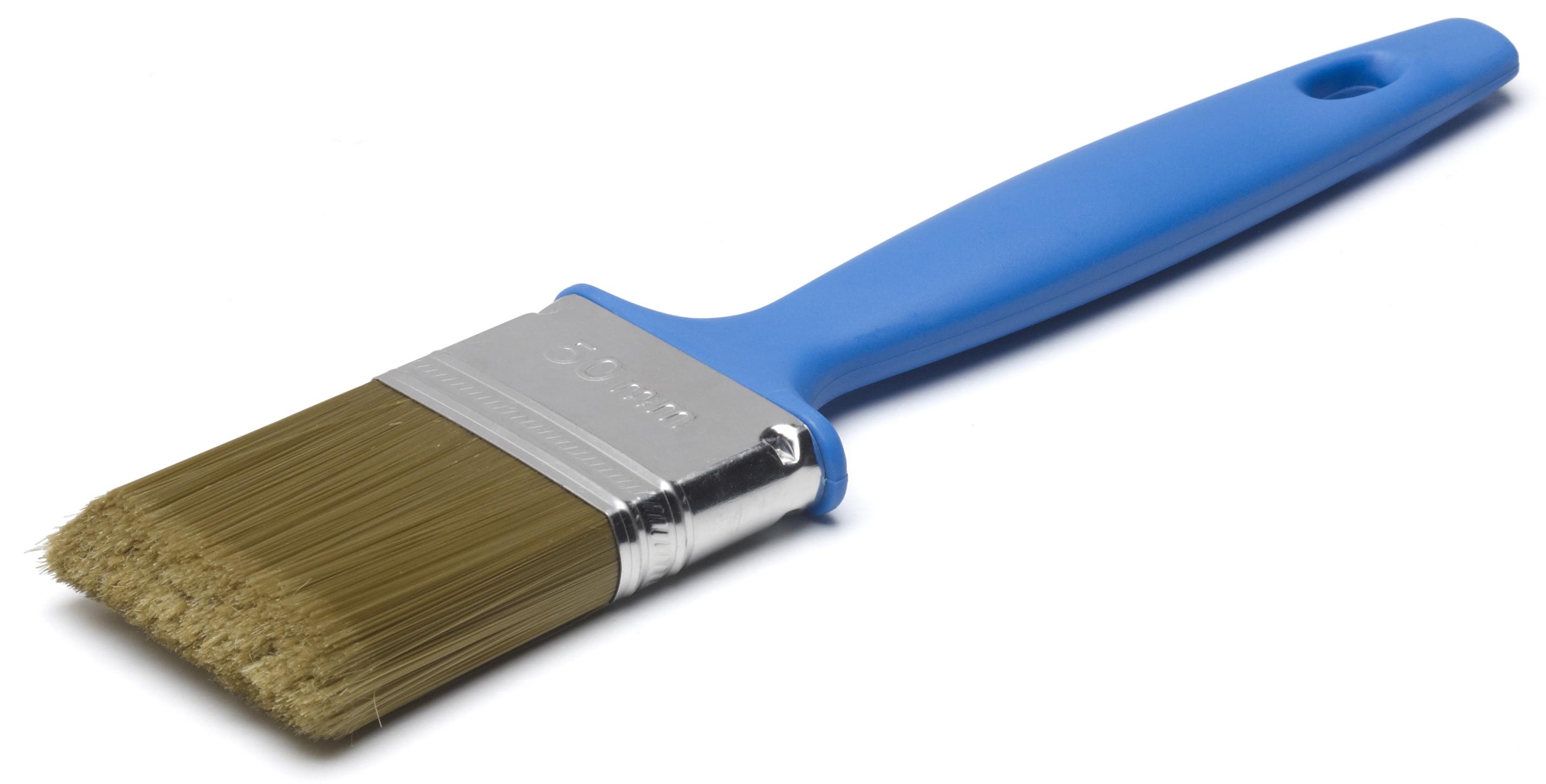 Кисть Anza 132170 кисть плоская 70 мм искусственная щетина прорезиненная ручка anza профи