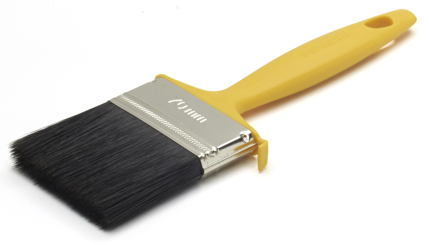 Кисть Anza 147570 кисть плоская 70 мм искусственная щетина прорезиненная ручка anza профи