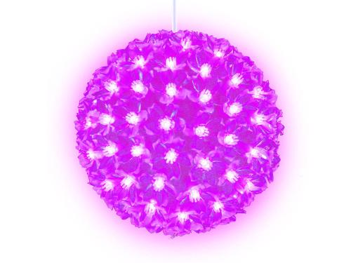Фигура новогодняя UNIEL ULD-H2121-200/DTA PINK IP20 SAKURA BALL