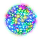 Фигура новогодняя UNIEL ULD-H2121-200/DTA RGB IP20 SAKURA BALL