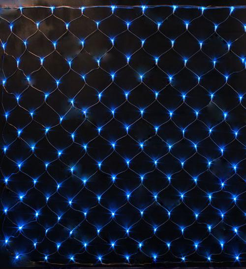 Светодиодная гирлянда-сетка на окно Uniel Uld-n2520-240/dta blue ip20 цена
