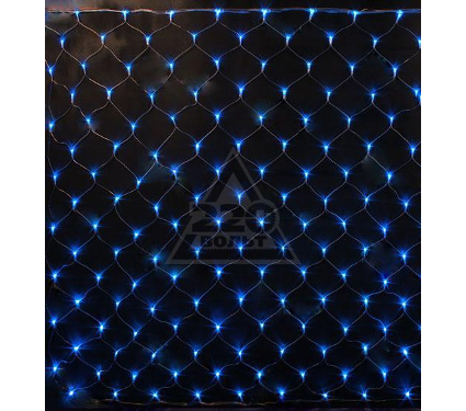 Светодиодная гирлянда-сетка на окно UNIEL ULD-N2520-240/DTA BLUE IP20