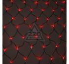 Электрогирлянда светодиодная сетка на окно UNIEL ULD-N2520-240/DTA RED IP20