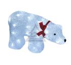 Новогодняя световая фигура UNIEL ULD-M3423-040/STA WHITE IP20 Белый медведь