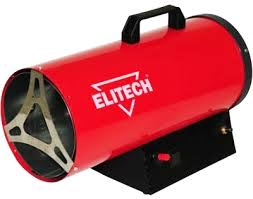 Тепловая пушка Elitech ТП 15ГБ тепловая пушка elitech тп 30г