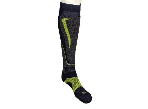 Носки горнолыжные MICO Basic ski sock in wool цвет: 002 blu