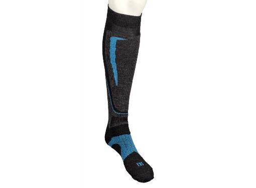Носки горнолыжные MICO Basic ski sock in wool цвет: 033 antracite