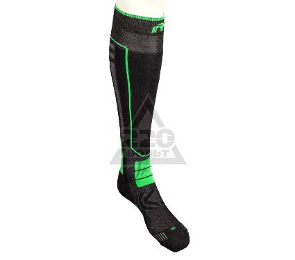 Носки горнолыжные MICO sock in polypropylene цвет: 155 nero verde fluo