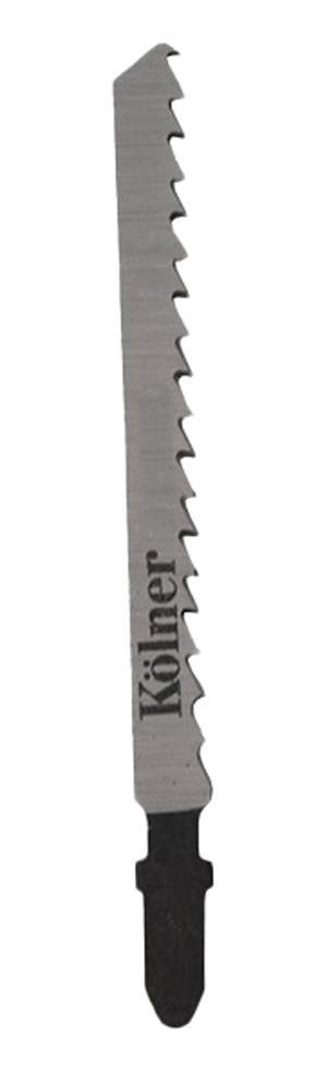 Пилки для лобзика Kolner Kt101АО пилки для лобзика по металлу для прямых пропилов bosch t118a 1 3 мм 5 шт