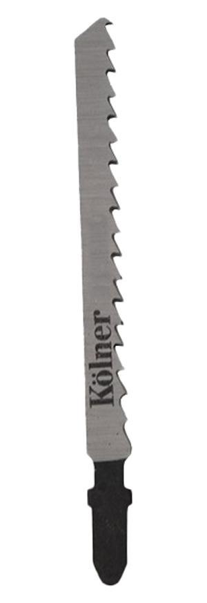 Пилки для лобзика Kolner Kt118a пилки для лобзика по металлу для прямых пропилов bosch t118a 1 3 мм 5 шт