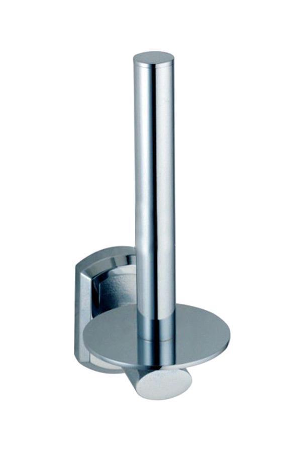 Держатель для туалетной бумаги WasserkraftДержатели для ванной комнаты<br>Назначение: для туалетной бумаги,<br>Цвет покрытия: хром,<br>Материал: металл,<br>Способ крепления: на стену,<br>Высота: 170,<br>Ширина: 60,<br>Глубина: 95<br>