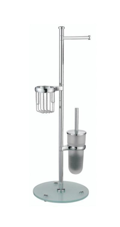 Стойка для ванной Wasserkraft K-1256 шкаф пенал первый мебельный пенал оскар 7 со штангой