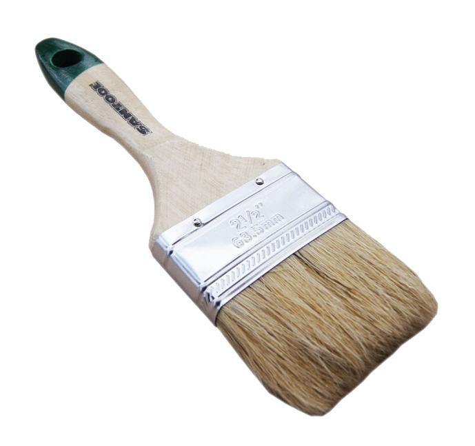 Кисть флейцевая Santool 010111-012-025 кисть плоская аква стандарт искусств щетина 1 25мм зубр 01016 025