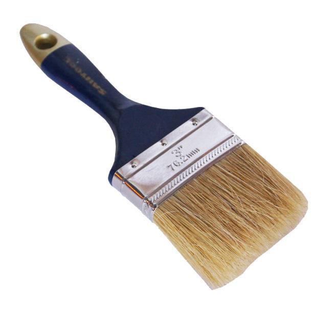 Кисть плоская Santool 010112-012-030 ключ гаечный комбинированный 30х30 santool 031602 030 030 30 мм