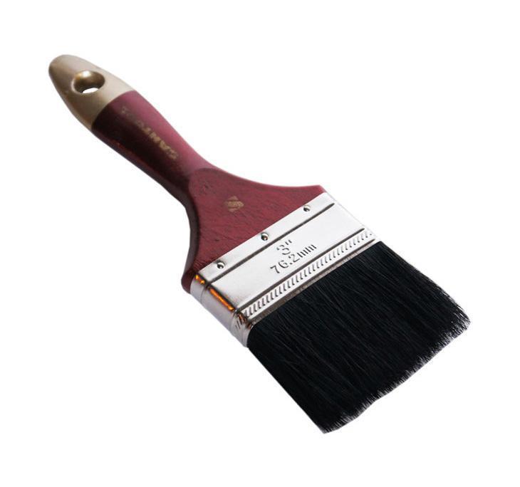 Кисть флейцевая Santool 010120-012-030 ключ гаечный комбинированный 30х30 santool 031602 030 030 30 мм