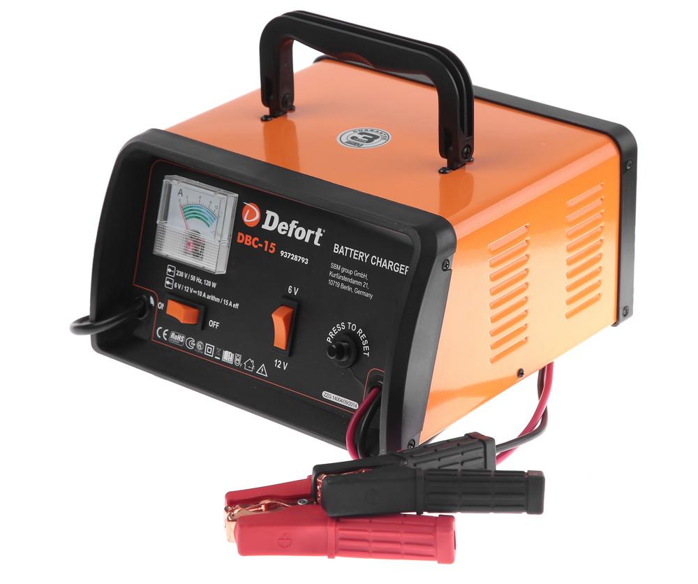 Фото. Зарядное устройство Defort Dbc-15
