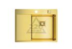 Мойка кухонная OMOIKIRI Akisame 65-LG-R - Светлое золото