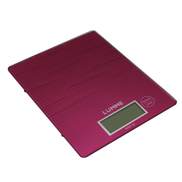 Весы кухонные LummeВесы кухонные<br>Максимальная нагрузка: 5,<br>Тип: электронные,<br>Тарокомпенсация: есть,<br>Индикация заряда: есть,<br>Конструкция весов: платформа,<br>ЖК-дисплей: есть,<br>Источники питания: CR2032,<br>Материал корпуса: пластик,<br>Материал платформы: стекло<br>