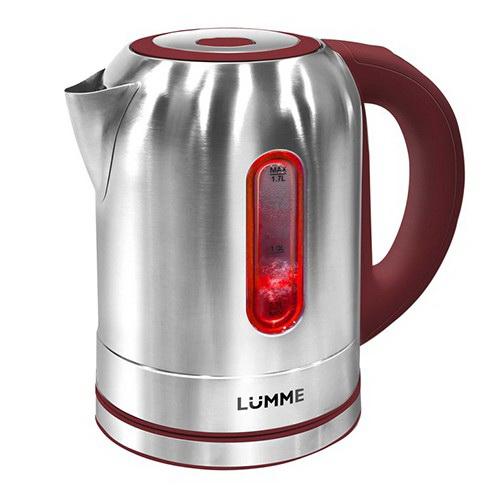 Чайник Lumme Lu-211 чайник lumme lu 134 2200 вт черный жемчуг 2 л стекло