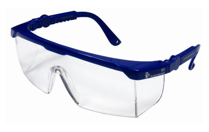 Очки защитные AmparoЗащитные очки<br>Тип очков: открытые,<br>Цвет: прозрачный,<br>Материал: поликарбонат,<br>Использование с корректирующими очками: есть,<br>Защита от ультрафиолетового излучения: есть<br>