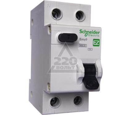 Диф. автомат SCHNEIDER ELECTRIC EASY9 АВДТ 1П+Н 16А 30мА C AC