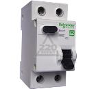 Диф. автомат SCHNEIDER ELECTRIC EASY9 АВДТ 1П+Н 25А 30мА C AC