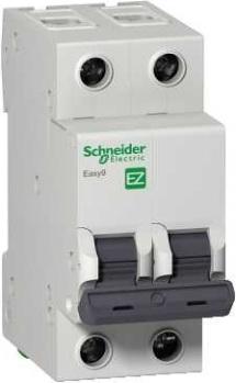 Автомат Schneider electric Easy9 ВА 2П 32А c 4.5кА автомат schneider electric easy9 ва 3п 32а c 4 5ка