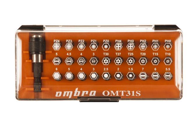 Набор бит Ombra Omt31s