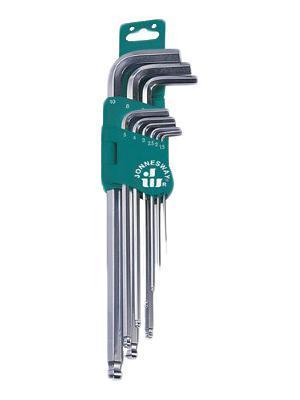 Набор шестигранных ключей Jonnesway H05sm109sl набор торцевых шестигранных ключей x tra long jonnesway h06sa109s