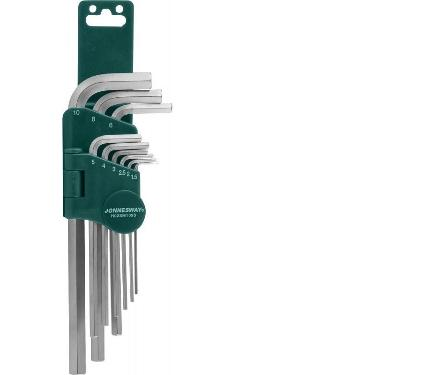 Набор шестигранных ключей JONNESWAY H02SM109S