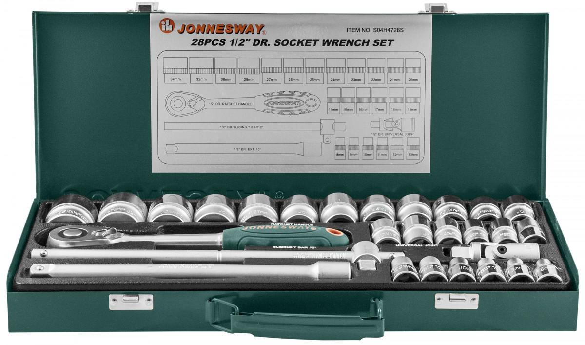 Набор головок Jonnesway S04h4728st набор головок jonnesway s68h2141s