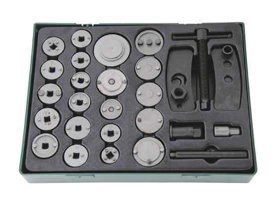 Набор JonneswayИнструмент для ремонта двигателя<br>Тип: инструмент,<br>Назначение инструмента: для возврата поршней дисковых тормозов,<br>Набор: есть,<br>Вес нетто: 4.5<br>