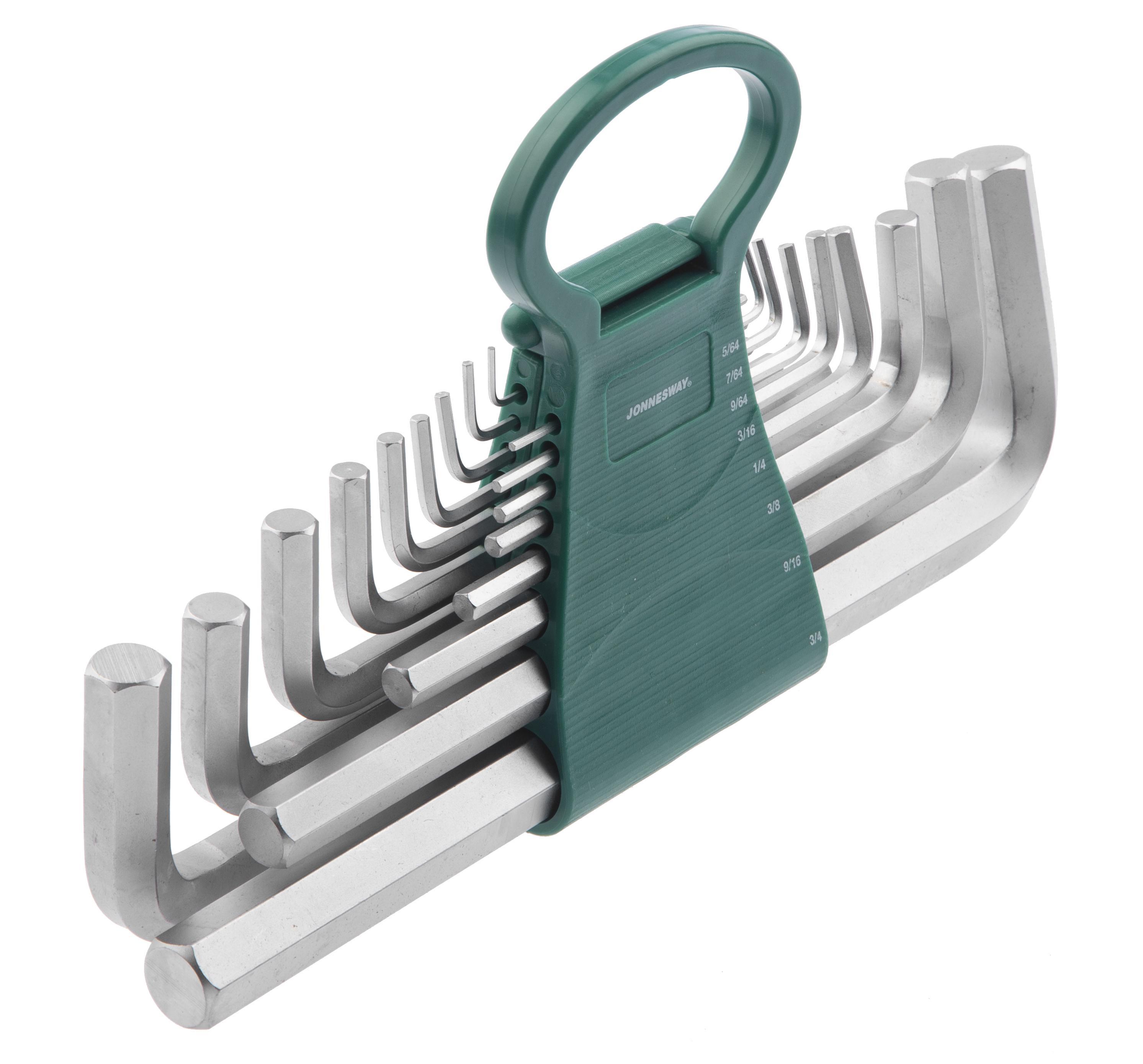 Набор шестигранных ключей Jonnesway H02mh217s набор jonnesway ai050004