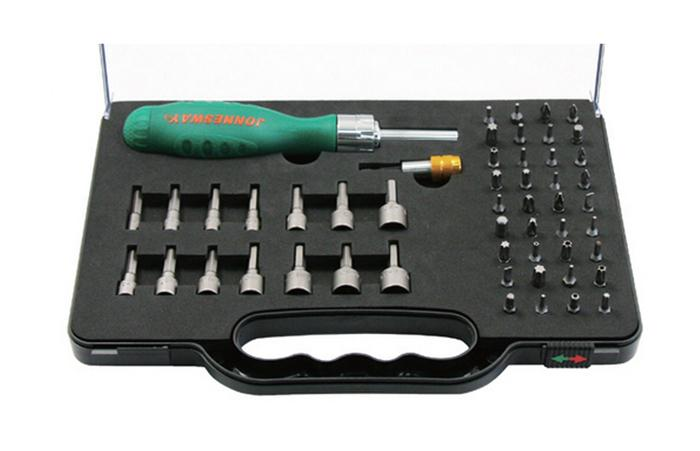 Отвертка ударная Jonnesway Dr0152s набор для регулировки фаз грм дизельных двигателей renault nissan dci jonnesway al010183