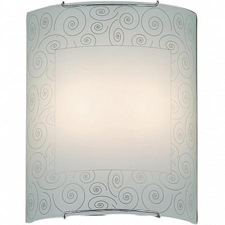 Бра CitiluxНастенные светильники и бра<br>Тип: настенный, Назначение светильника: для комнаты, Стиль светильника: модерн, Материал светильника: металл, стекло, Тип лампы: накаливания, Количество ламп: 2, Мощность: 100, Патрон: Е27, Цвет арматуры: белый, Длина (мм): 110, Ширина: 240, Высота: 300, Диаметр: 240<br>
