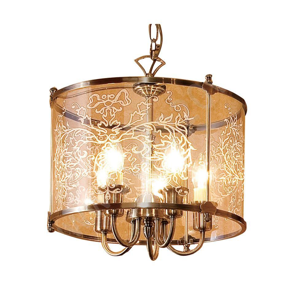 Люстра Citilux Cl408153r lucesolara люстра lucesolara 8001 5s цоколь е14 40w gold cream металл стекло 5 ламп