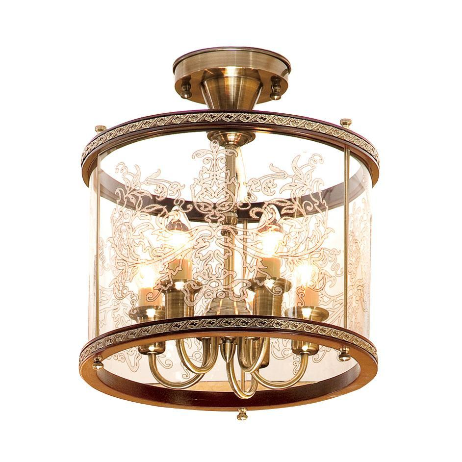 Люстра Citilux Cl408253r lucesolara люстра lucesolara 8001 5s цоколь е14 40w gold cream металл стекло 5 ламп